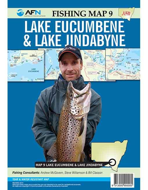 MAp Eucumbene and Jindabyne
