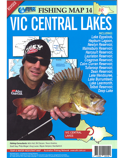 Vic Central Lakes Map