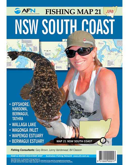 NSW South Coast Map