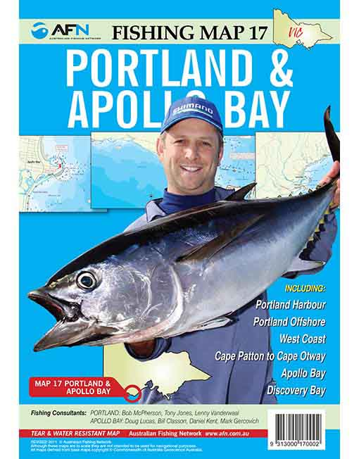 Portland and Apollo Bay Map