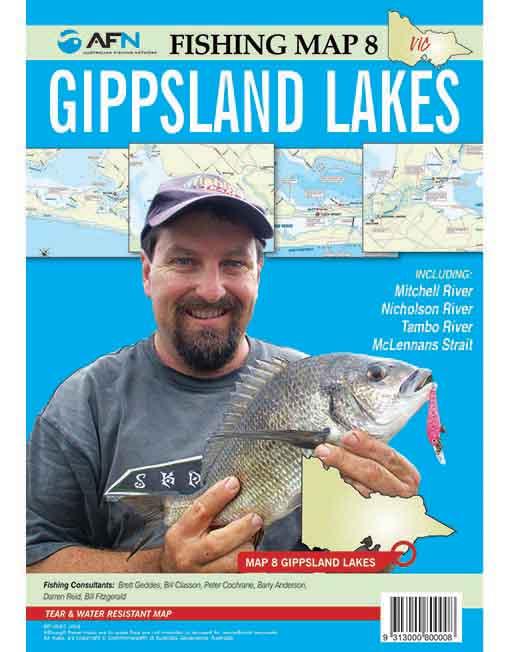 Gippsland Lakes Map