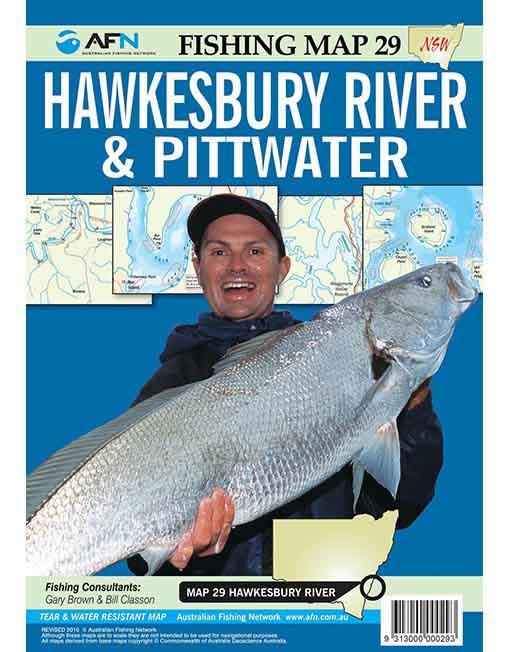 Hawkesbury/Pittwater Fishing Map