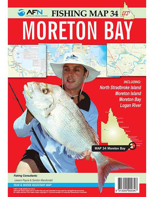 Moreton Bay Fishing Map