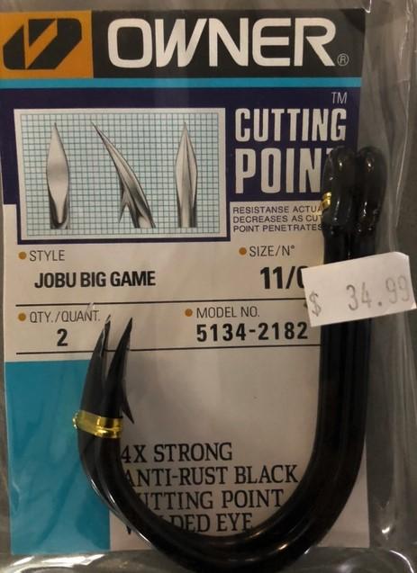 Owner Jobu Game Hook 11/0